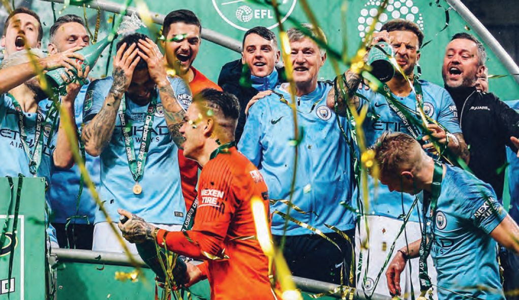 Chelsea Carabao cup final 2018 to 19 cup celeb3