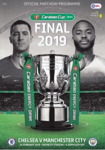 Chelsea Carabao cup final 2018 to 19 prog