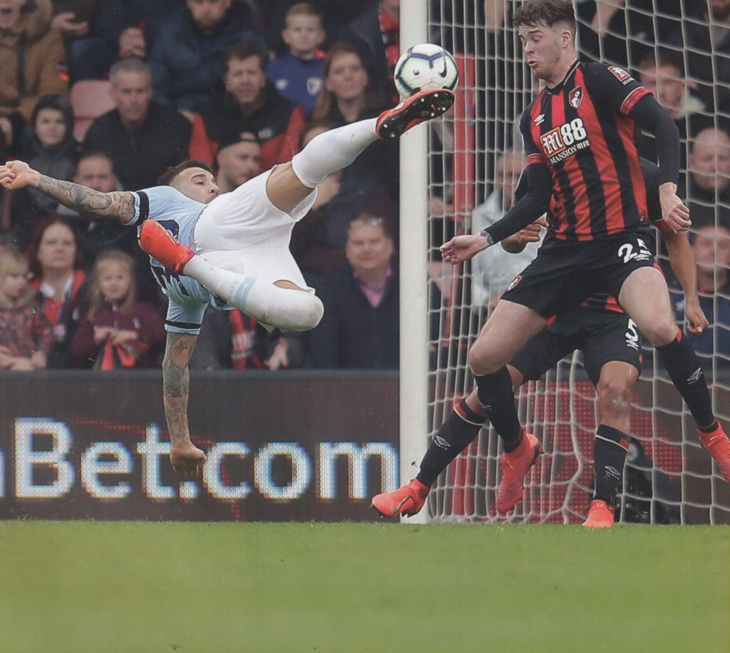 bournemouth away 2018 to 19 action5