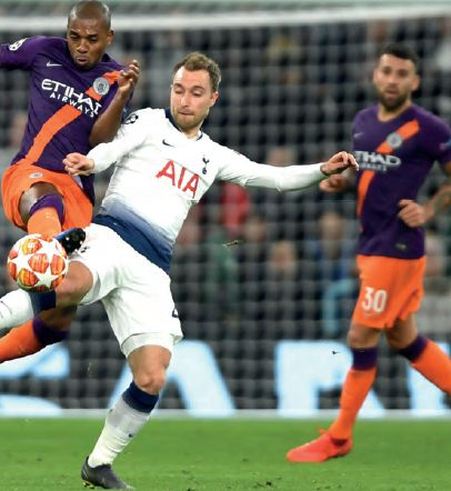 tottenham away champs lge 2018 to 19 action4