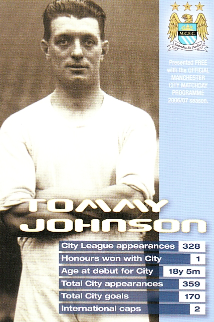 Johnson, Tommy card