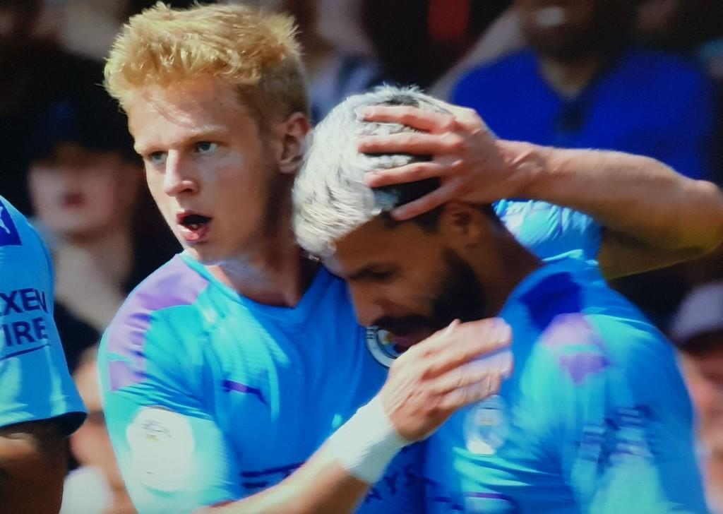 bournemouth away 2019 to 20 first aguero goal