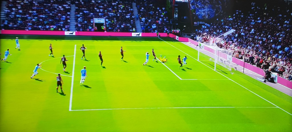 bournemouth away 2019 to 20 sterling goal
