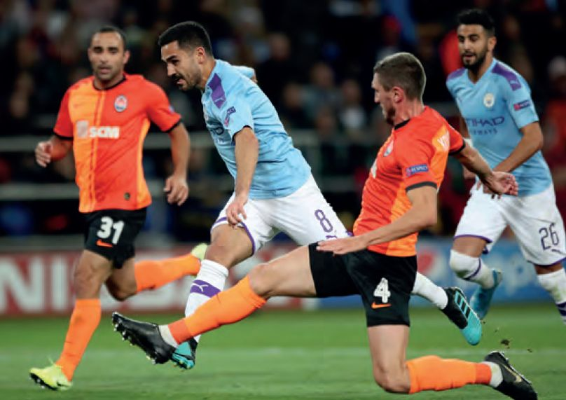 shakhtar away 2019 to 20 gundogan goal