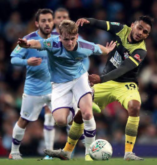 southampton lge cup 2019 to 20 doyle debut
