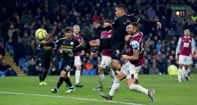 burnley away 2019 to 20 jesus goal 2-0