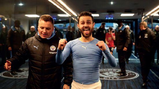 man utd home league cup semi final 2019 to 20 tunnel