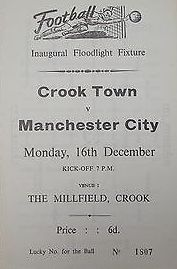 Crook town 1968 to 69 prog