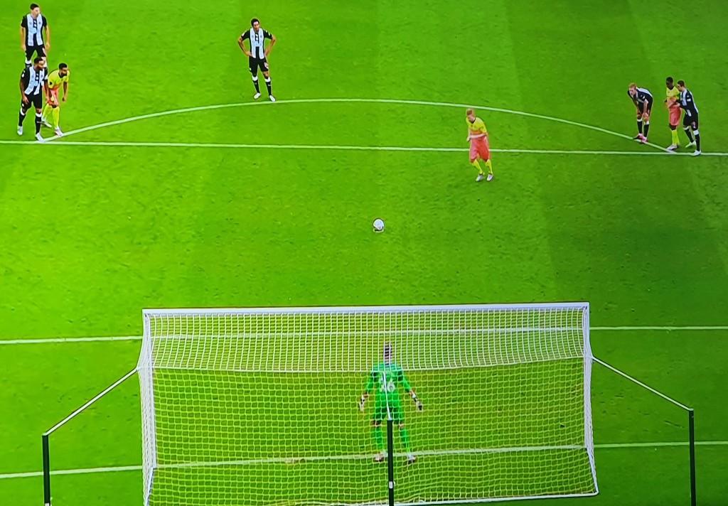 newcastle fa cup 2019 to 20 de bruyne goal