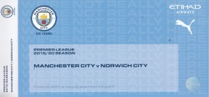 Norwich home 2019 to 20 ticket