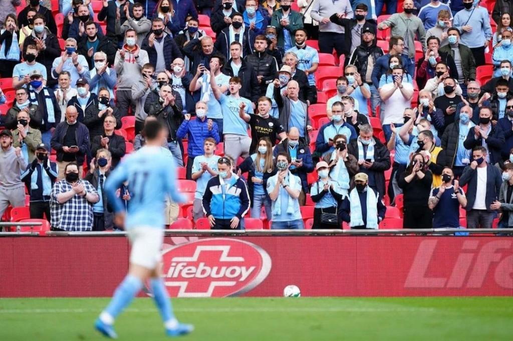 tottenham caraboa cup final 2021 fans