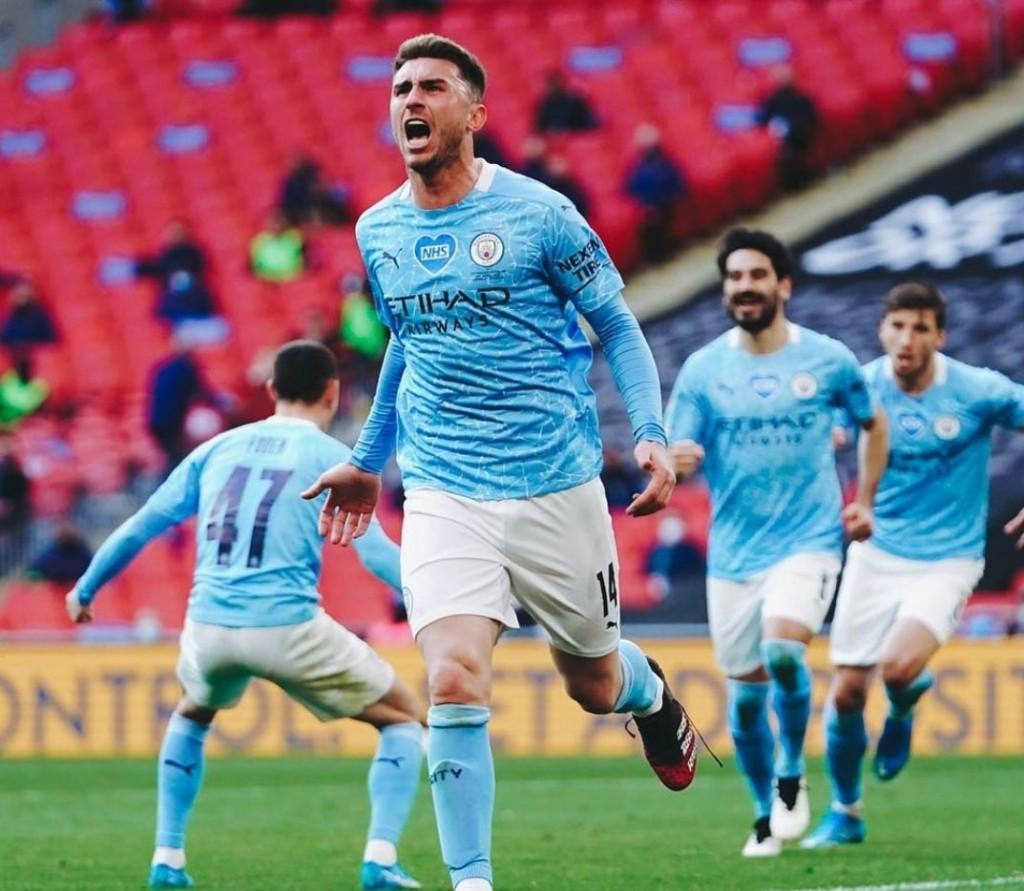 tottenham caraboa cup final 2021 laporte goal1