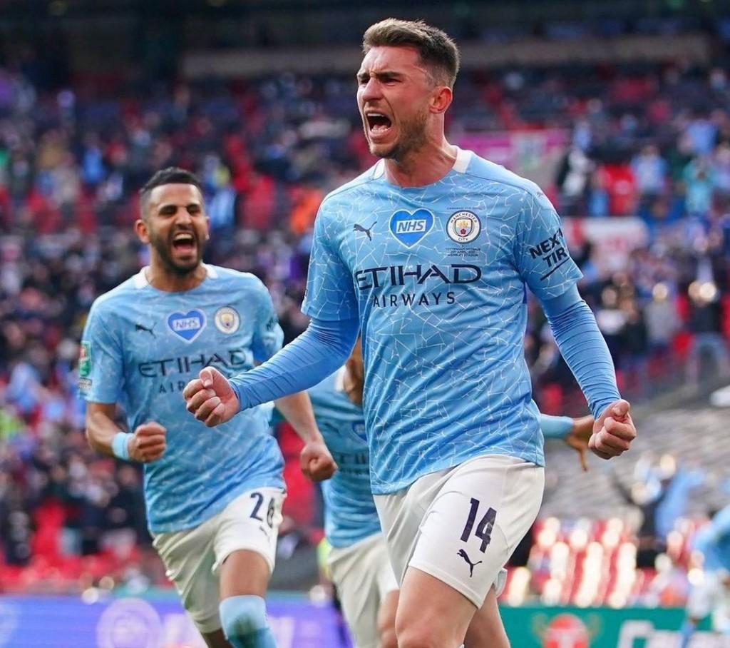 tottenham caraboa cup final 2021 laporte goal2