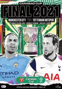 tottenham caraboa cup final 2021 prog