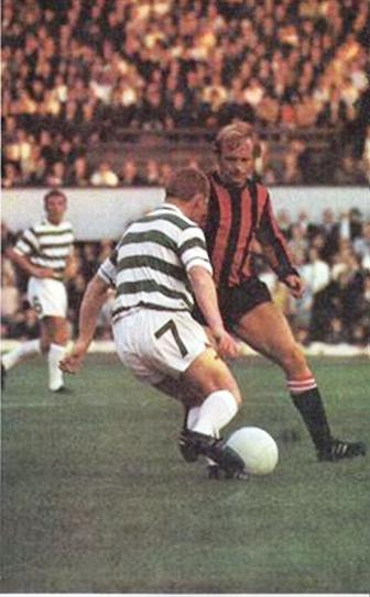 celtic friendly 1970 to 71 action