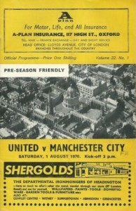 oxford 1970 to 71 prog