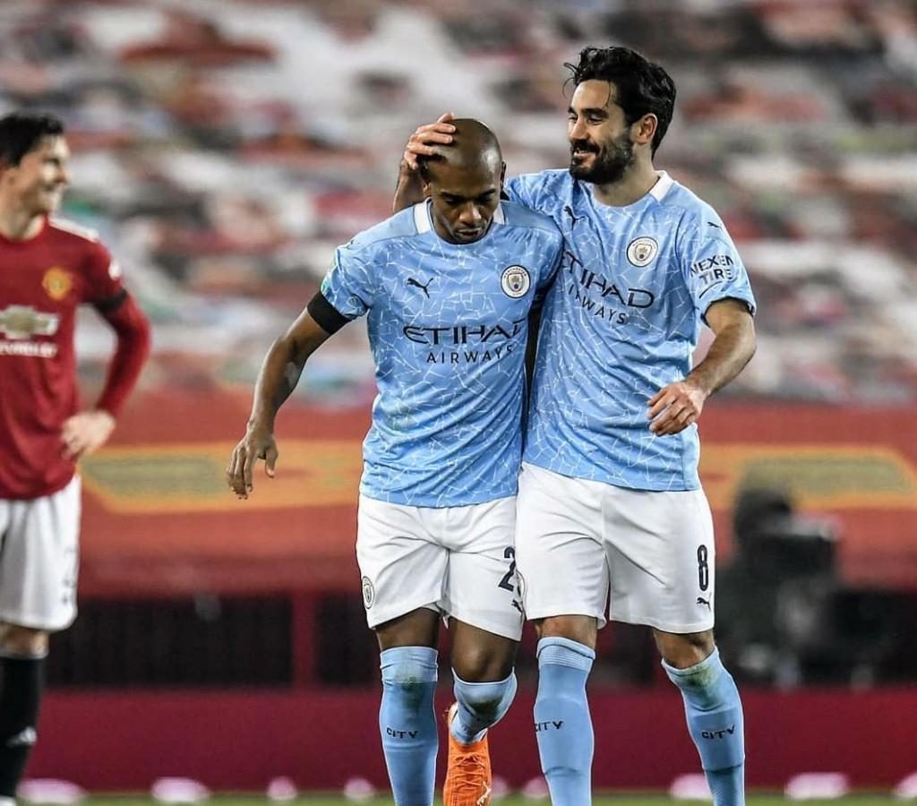 man united carabao cup 2020 to 21 fernandinho goal