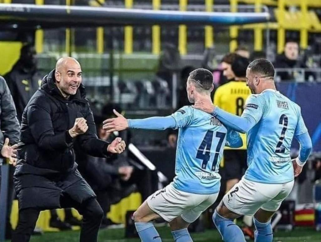borussia dortmund away 2020 to 21 foden goal