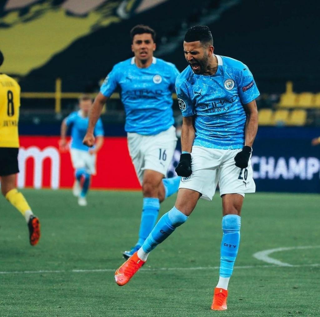 borussia dortmund away 2020 to 21 mahrez pen goal