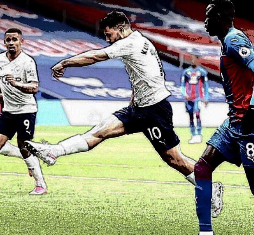 crystal palace away 2020 to 21 aguero goal