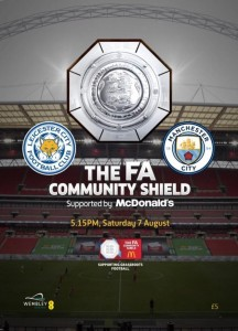 Leicester Community shield 2021 to 22 prog