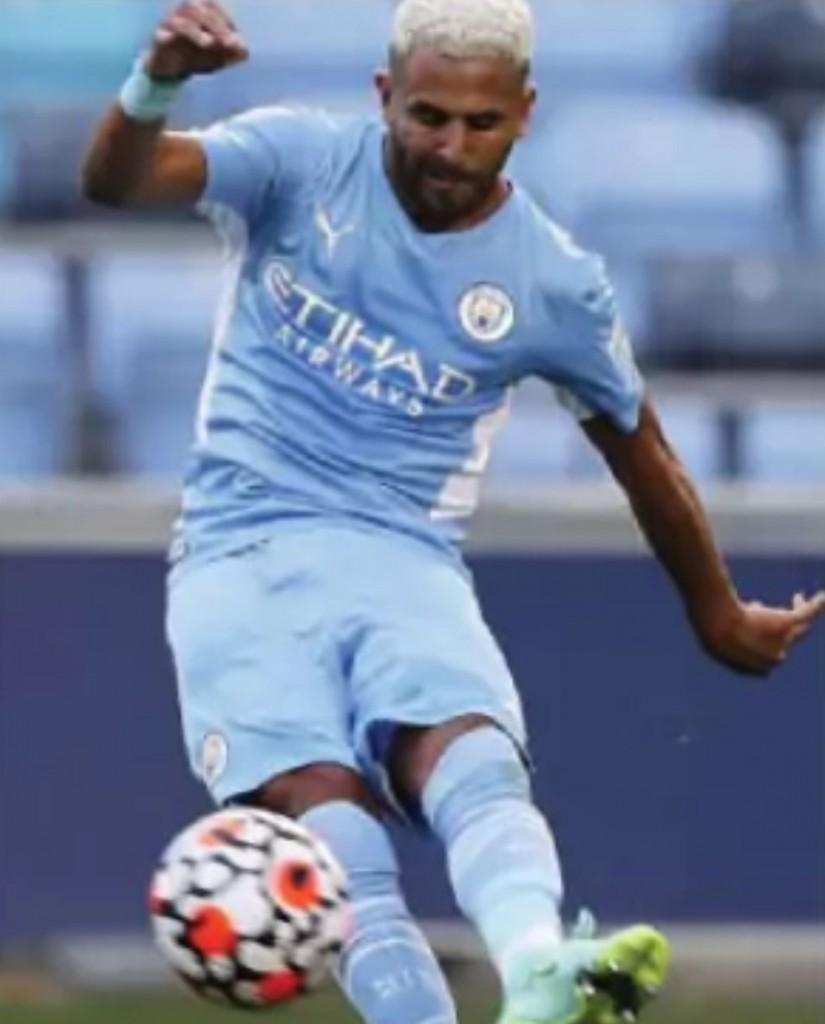 preston friendly 2021 to 22 mahrez goal