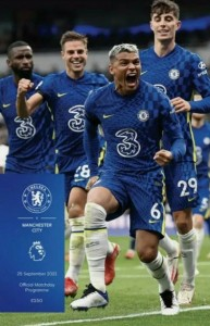 chelsea away 2021 to 22 Programme