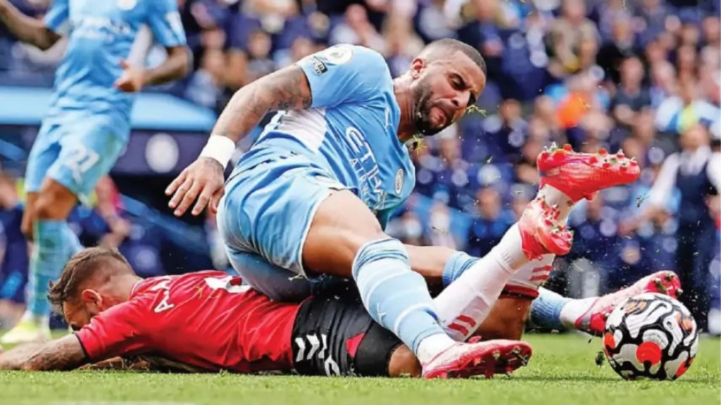 southampton home 2021 to 22 walker red overturned tackle