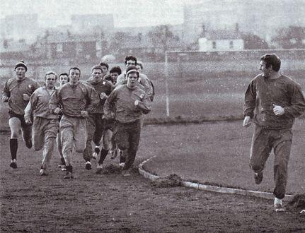 1968 to 69 pr-season traininga