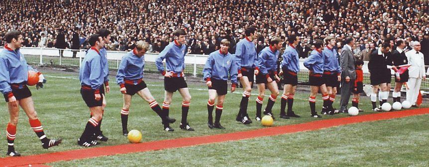 1968-69 fa cup final team line