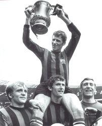 1968-69 tony book held aloft fa cupA