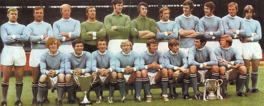1970 to 71 team group