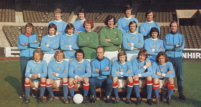 1973 to 74 team group