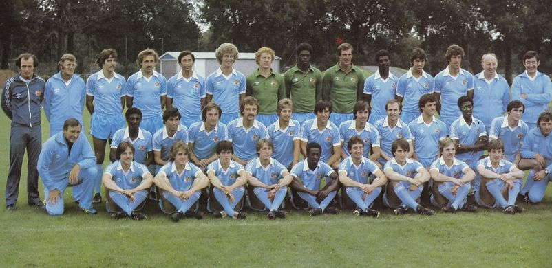1980 to 81 team group