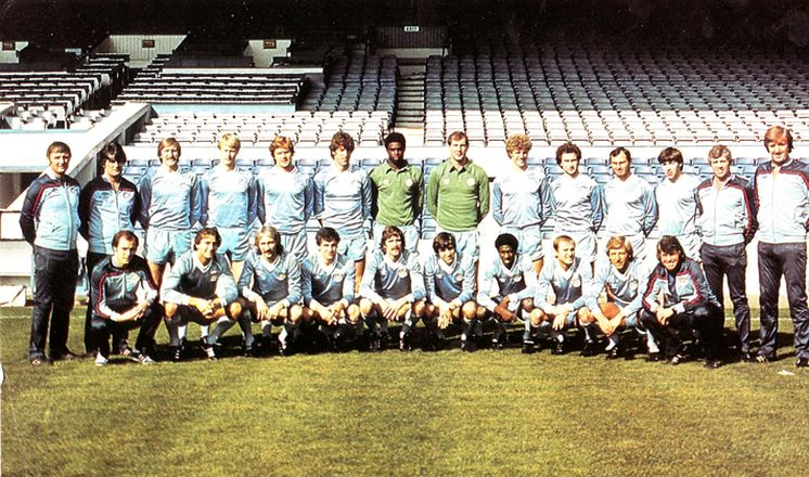 1981 to 82 team group