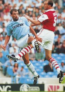 Arsenal home 1995 to 96 action7