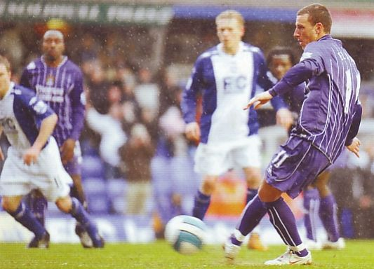 BIRMINGHAM AWAY 2007 TO 08 elano goala