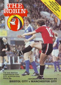 BRISTOL CITY AWAY 1979 TO 80 prog