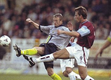 BURNLEY away 2001 to 02 action3a