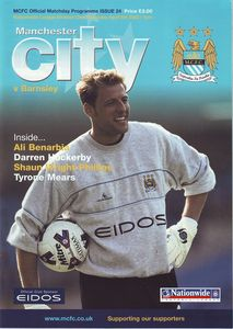 Barnsley home 2001 to 02