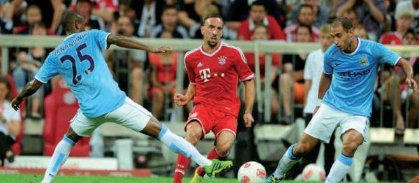 Bayern Munich audi cup 2013 to 14 action