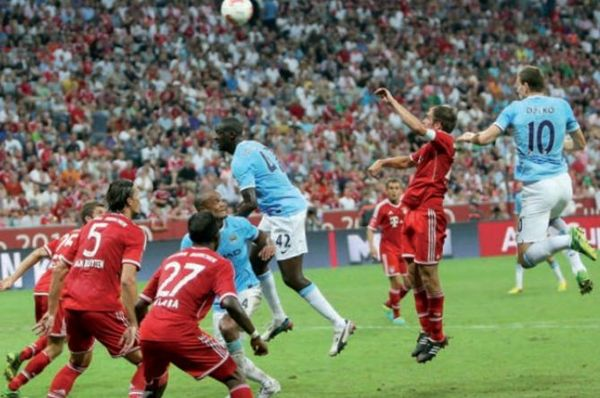 Bayern Munich audi cup 2013 to 14 action2