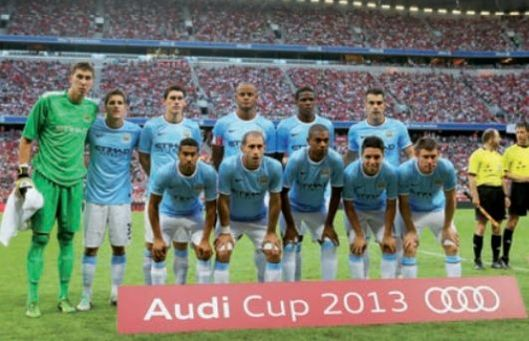 Bayern Munich audi cup 2013 to 14 team