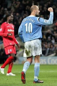 Birmingham home 2004 to 05 sibierski goal celebration