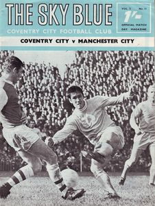 COVENTRY AWAY 1968 TO 69 PROG
