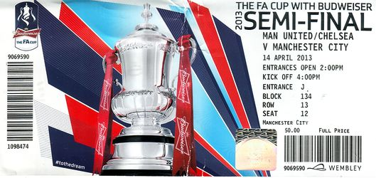 Chelsea fa cup semi 2012 to 13 ticket