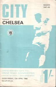 Chelsea home 1967-68 programme
