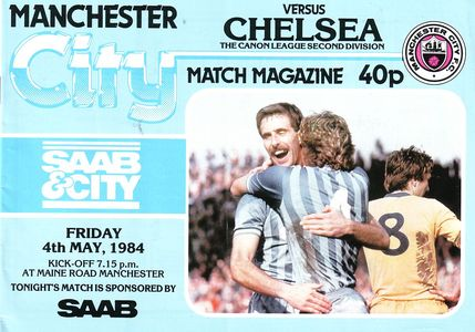 Chelsea home 1983 to 84 progA