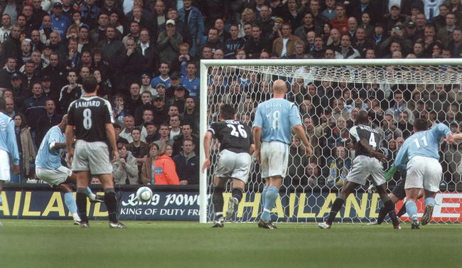 Chelsea home 2004 to 05 anelka goal