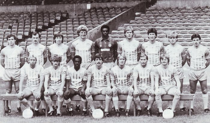 City squad 1983 to 84